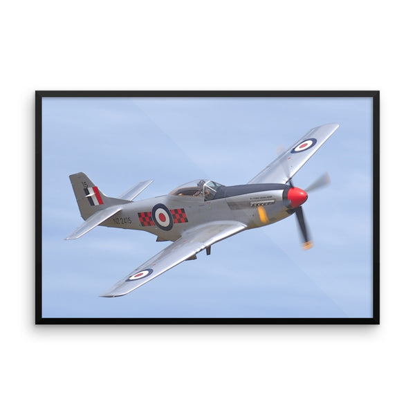 Framed poster print(Airplane) - JenniPaintings-FoundTreasures