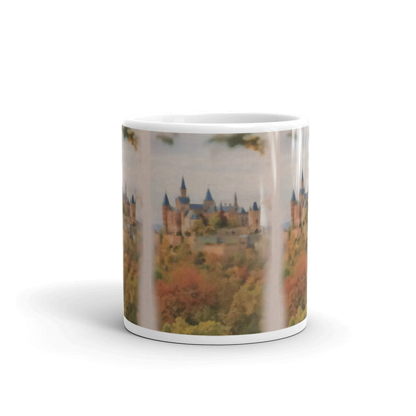 Mug(Castle) -JenniPaintings Found Treasures