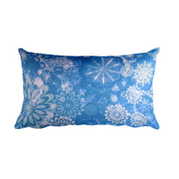 Rectangular Pillow(Snowy Night)