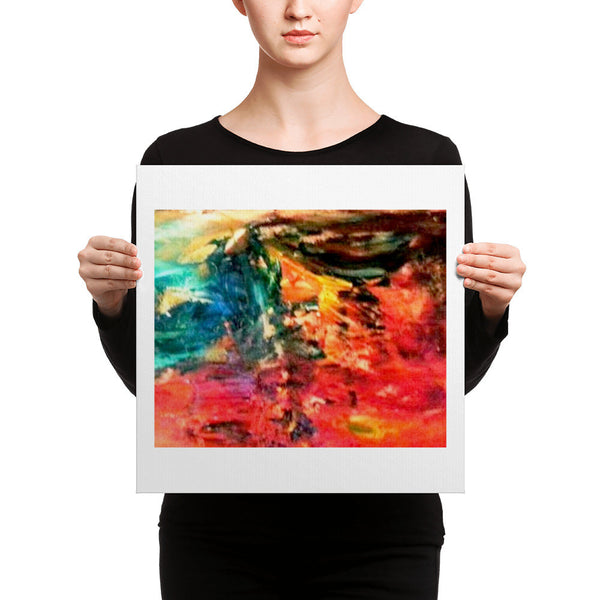 Canvas Print(Face in the Crowd)