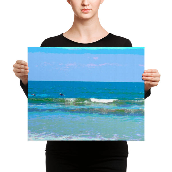 Canvas print(Wave after wave)