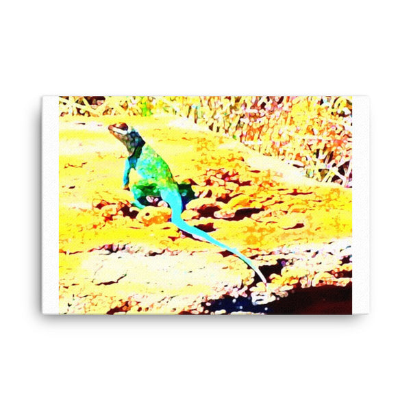 Canvas(mountain lizard)