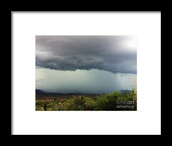 Monsoon - Framed Print