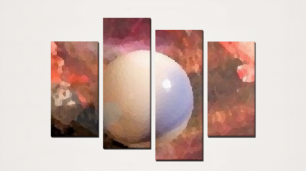 New World(4 Panels Canvas Print)