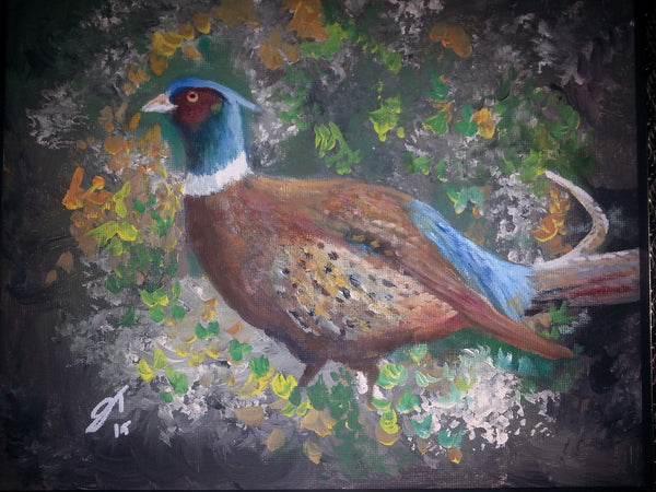 Pheasant (Rooster) - JenniPaintings