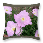 Prim Rose - Throw Pillow