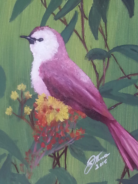 Purple Martin - JenniPaintings