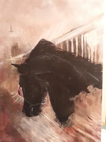 Second Horse - JenniPaintings