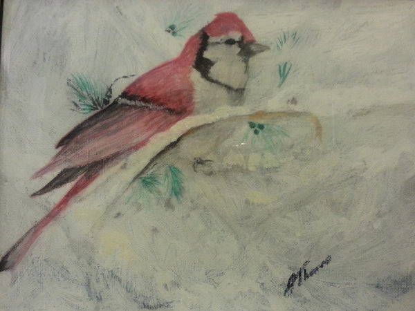 Snow Bird - JenniPaintings