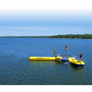 RAVE Sports Aqua Jump 150 with Launch and Log Water Trampoline For Sale Best Price Online