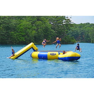 RAVE Sports Bongo 20 w/Slide and Launch water trampoline for sale