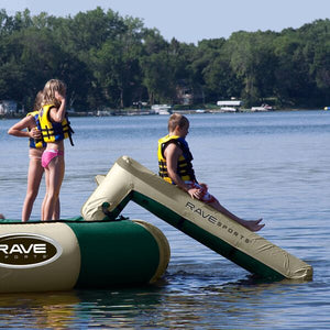 RAVE Sports Aqua Slide Small Northwoods water trampoline attachment for sale