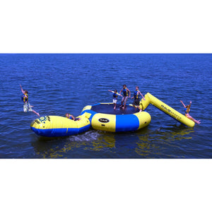 RAVE Sports Bongo 15 w/Slide and Launch water trampoline for sale