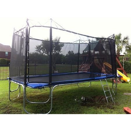Texas Trampolines 10ft x 17ft Star Trampoline with Net Enclosure for sale online