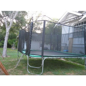 Texas Trampolines Extreme 15ft x 17ft Rectangle Trampoline with Net Enclosure