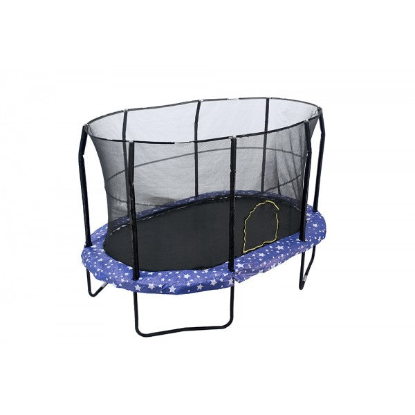 JumpKing 9 X 14ft Oval Trampoline with Net Enclosure trampoline for sale