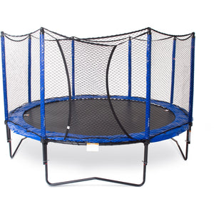 JumpSport StagedBounce 14ft Trampoline with Net Enclosure