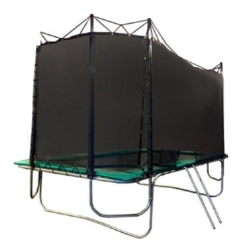 Texas Trampolines Kids Delight 8ft x 13ft Rectangle Trampoline with Net Enclosure for sale online