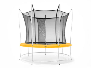 Vuly 8ft Lift Small Trampoline with Net Enclosure for sale online