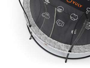 Vuly 12.5ft Lift Pro Large Trampoline with Net Enclosure for sale online