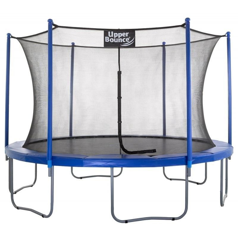 Upper Bounce Easy Assembly Trampoline with Net Enclosure – Trusted ...