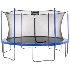 Upper Bounce Easy Assembly Trampoline & Enclosure for sale available at the best price online with free shipping and no sales tax only at Trusted Trampolines
