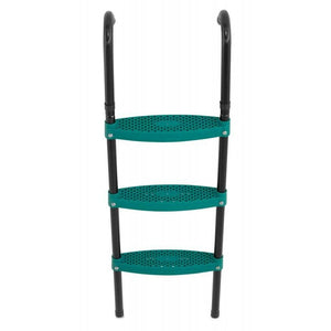 "Upper Bounce 42"" Trampoline Ladder 3 Steps foldable - Green"