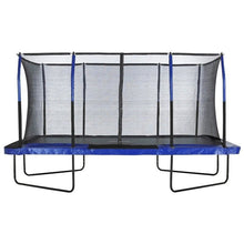 Upper Bounce Mega 8' X 14' Rectangular Trampoline with Enclosure System