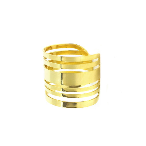 Joyful Lines Ring