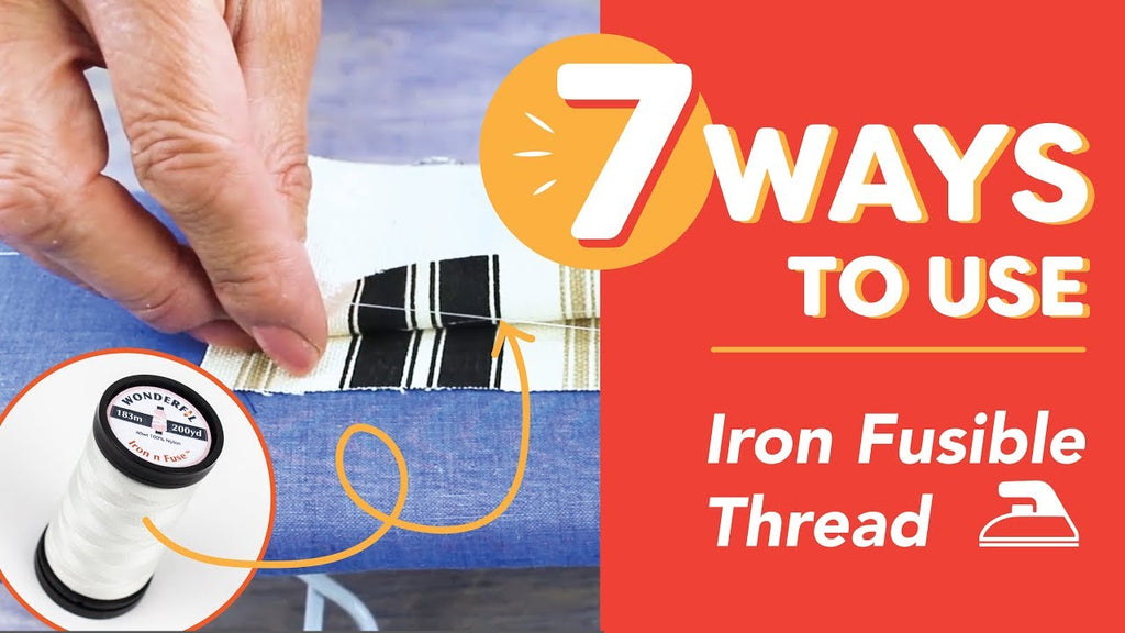 7 Ways to Use Iron Fusible Thread
