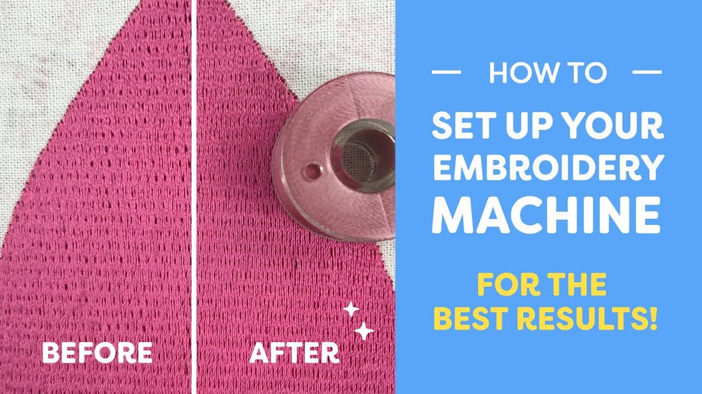 Maura Kang How To Set Up Your Embroidery Machine For The