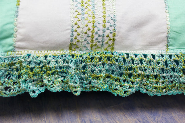 Crochet by Machine -  Tutorial