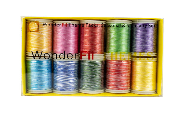 12wt Soft Black 3-ply 100/% Long Staple Double-Gassed Egyptian Cotton WonderFil Specialty Threads Spagetti
