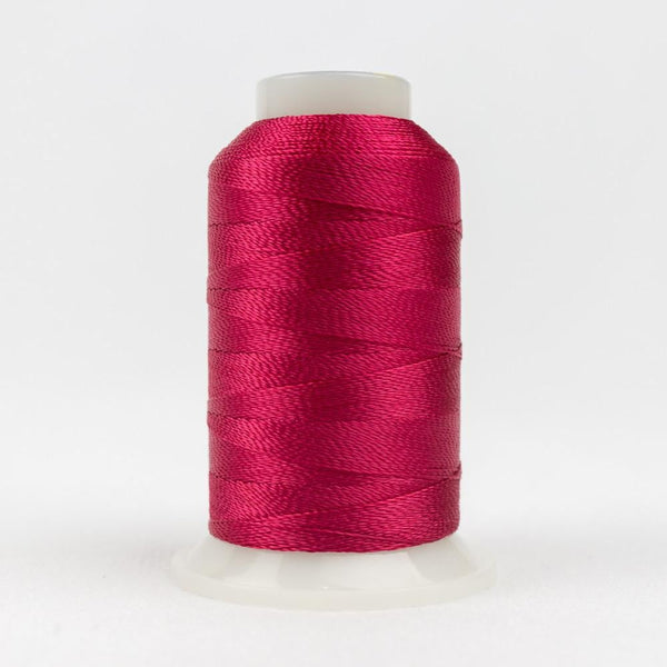 AC1168 - Accent 12wt Rayon Dark Crimson Thread - wonderfil-online-eu