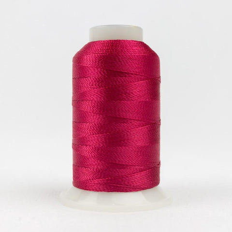 Accent 12wt/2ply Rayon Dark Crimson thread