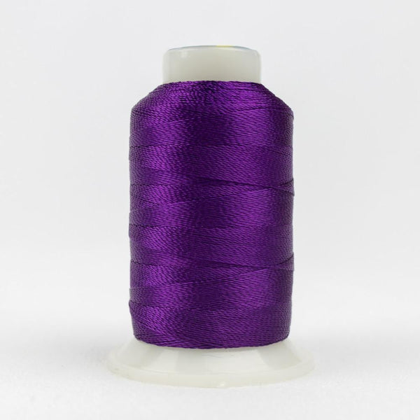 AC124 - Accent 12wt Rayon Purple Thread - wonderfil-online-eu