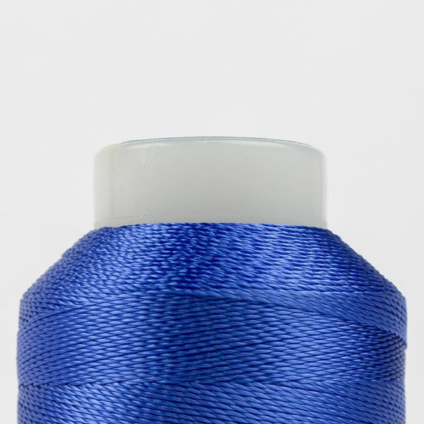 AC137 - Accent 12wt Rayon True Blue Thread - wonderfil-online-eu