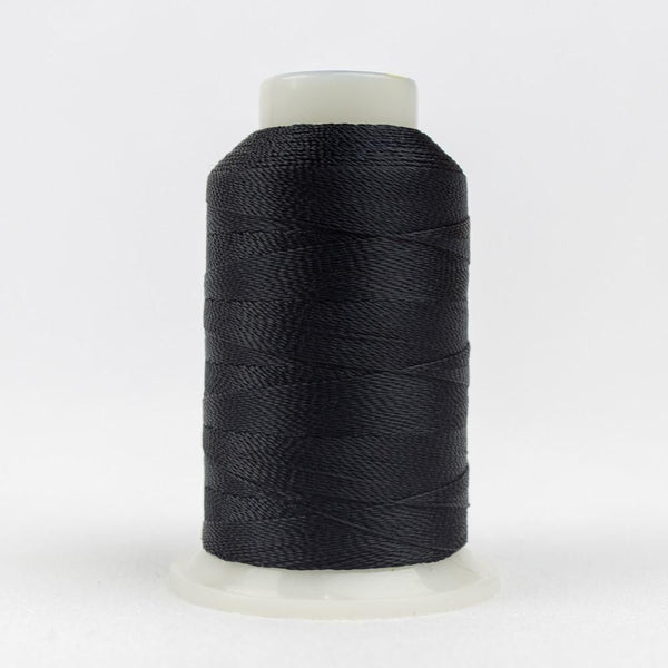 Accent 12wt/2ply Rayon Black