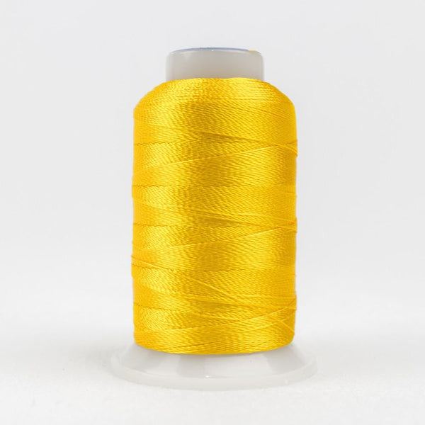 AC2118 - Accent 12wt Rayon Sunny Yellow Thread - wonderfil-online-eu