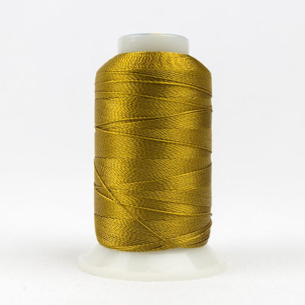 Accent 12wt/2ply Rayon Dark Gold