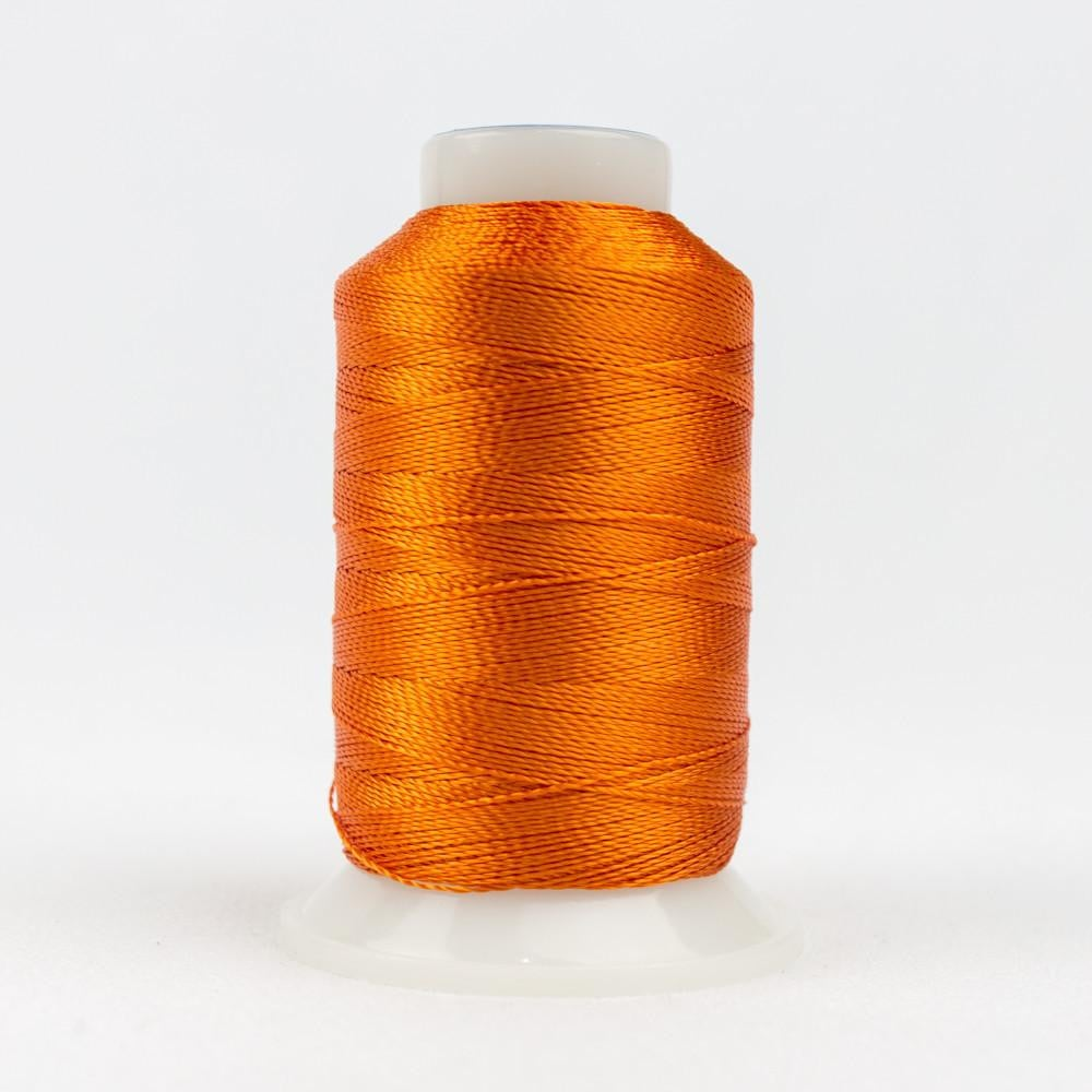 AC27 - Accent 12wt Rayon Orange Thread - wonderfil-online-eu