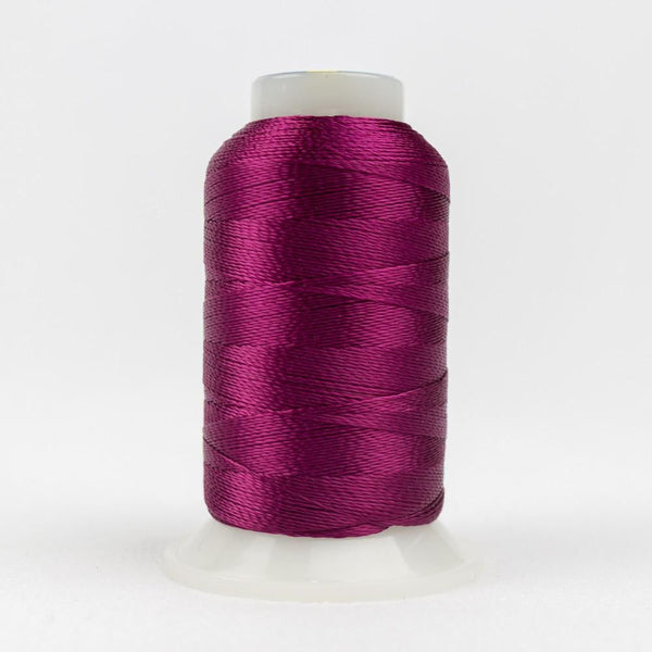 AC42 - Accent 12wt Rayon Raspberry Thread - wonderfil-online-eu