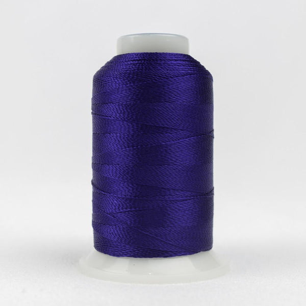 AC50 - Accent 12wt Rayon Dark Blue Thread - wonderfil-online-eu
