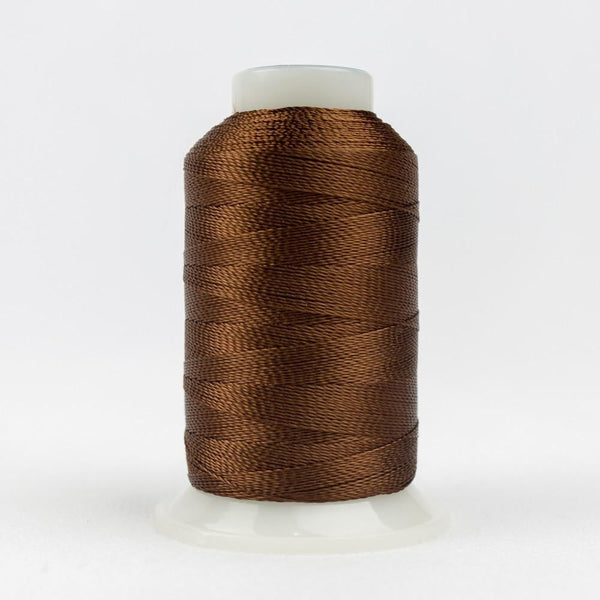 AC6230 - Accent 12wt Rayon Nutmeg Thread - wonderfil-online-eu