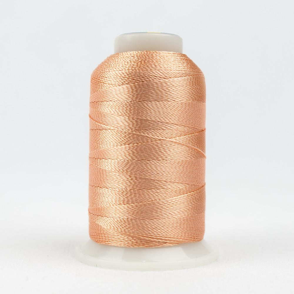 AC988 - Accent 12wt Rayon Light Peach Thread - wonderfil-online-eu