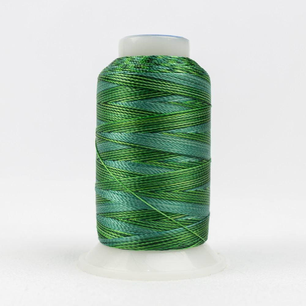 ACM03 - Accent 12wt Rayon Multi Greens Thread - wonderfil-online-eu