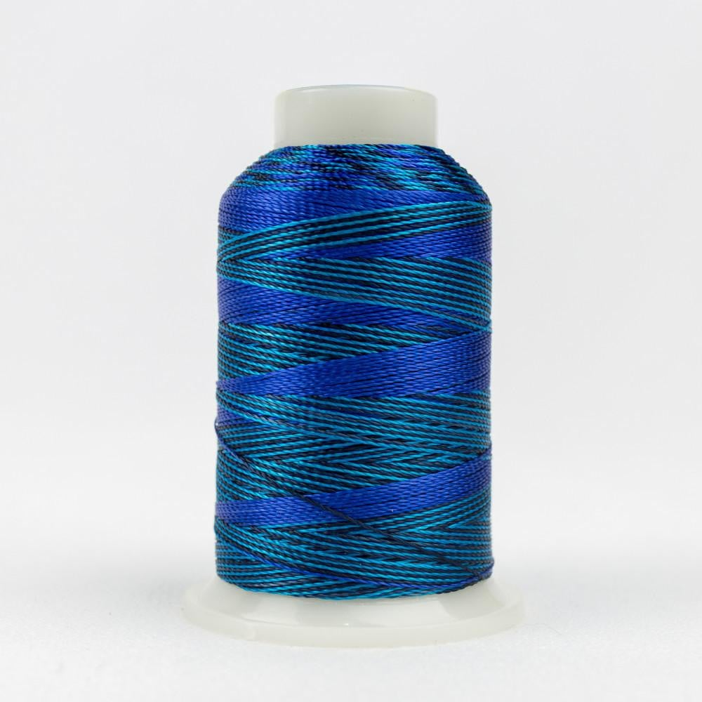 ACM04 - Accent 12wt Rayon Mediterranean Blues Thread - wonderfil-online-eu