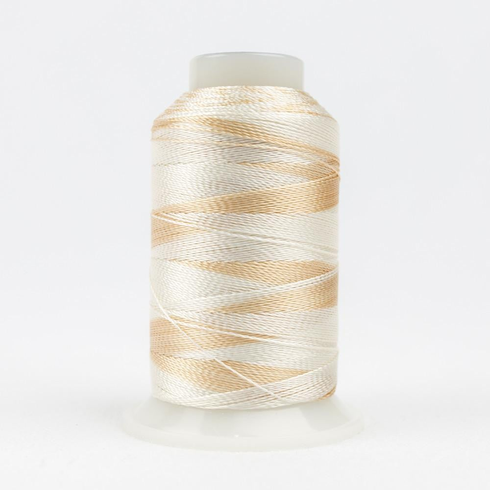 ACM14 - Accent 12wt Rayon Pink White Thread - wonderfil-online-eu