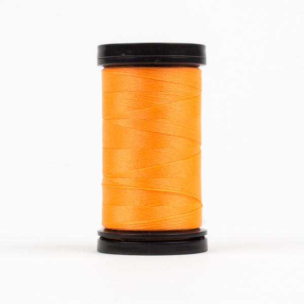 AR05 - Ahrora 40wt Glow in the Dark Polyester Saffron Thread - wonderfil-online-eu