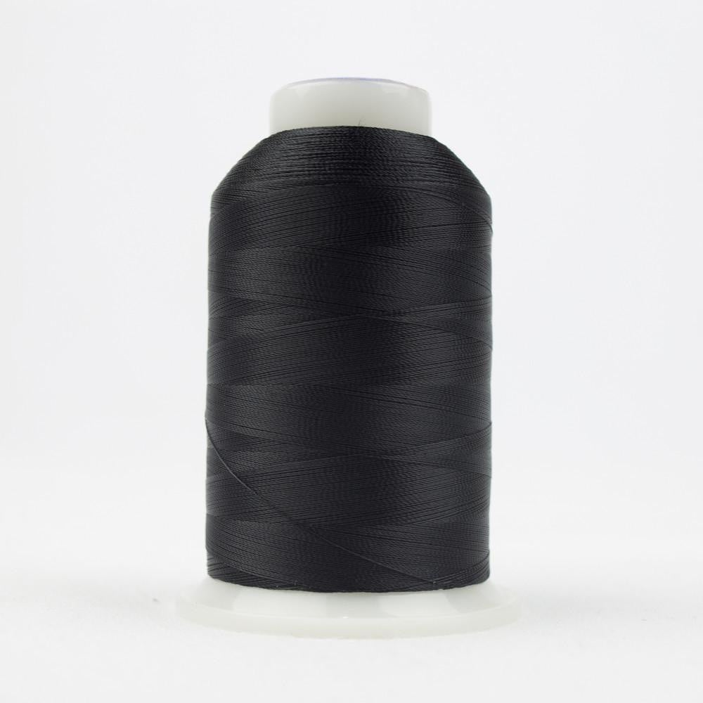 DB101 - All Purpose Cotton Polyester Black Thread - wonderfil-online-eu